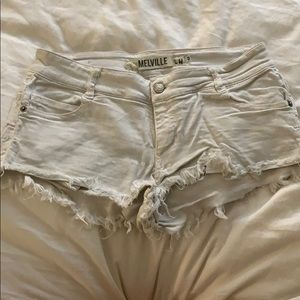 White brandy Melivile shorts